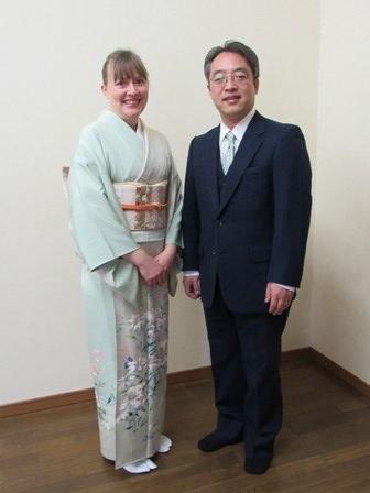 Jr High Graduation in Kimono 2017