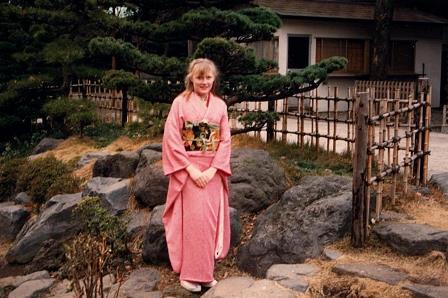 Seijinshiki in Kimono 1990